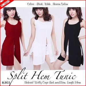 harga Split Hem Tunic (BL803) Tokopedia.com