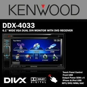 Jual KENWOOD DDX 4033 DVD - Kota Yogyakarta - Icel Audio | Tokopedia