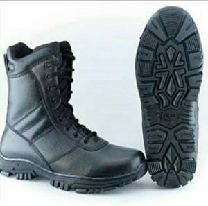 harga sepatu PDL retsleting original TNI/sepatu laras/sepatu boots Tokopedia.com