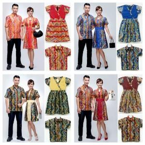 Jual Baju Batik Couple Keluarga  Krisdayanti dress  pabrik