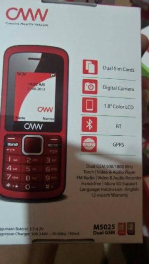 Hp Nexian M5025 Handphone Murah Meriah