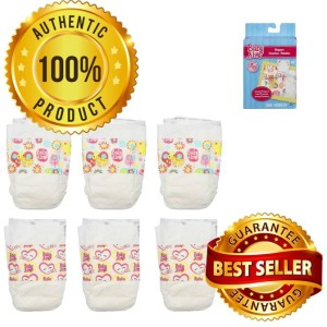 BA202 Baby Alive Diapers Pack (6pcs)
