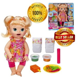 BA123 Baby Alive Super Snacks Snackin' Sara Blonde