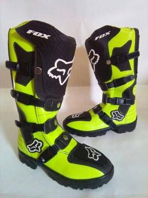 harga Sepatu Cross Sepatu Trail Boots MX Fox Lokal Tokopedia.com