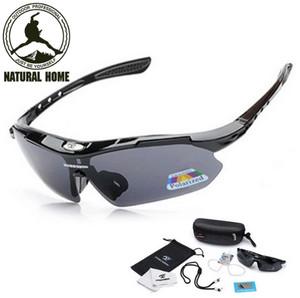 Kacamata Sepeda Polarized + Anti UV ROBSBON Sunglasses