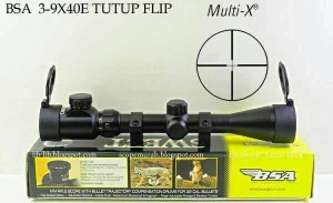 harga Teleskop Senapan Angin BSA SWEET 22 3-9x40E / Tele Scope Tokopedia.com