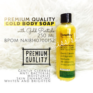 [ 250 ml ] PREMIUM GOLD SOAP 250 ml BPOM HUMPREY