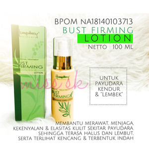 Agrindo Bust Firming BPOM NA18140103713 / Breast Lotion with pueraria