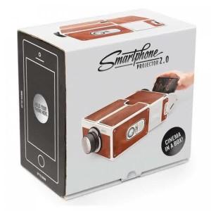 Portable Cardboard Smartphone Projector 2.0