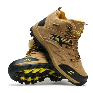 harga Sepatu Gunung Snta 471 Brown Yellow Trekking/Hiking/Adventure/Outdoor Tokopedia.com