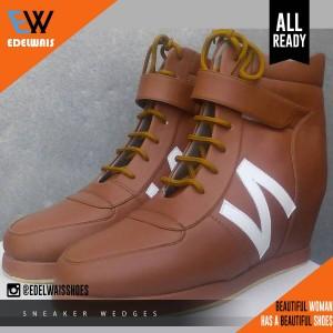 harga sneaker hidden wedges sepatu wanita nike adidas platform heels Tokopedia.com