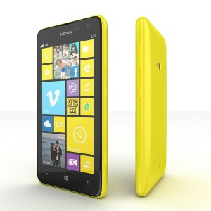 HP MICROSOFT NOKIA LUMIA 625 WINDOWS 8GB - YELLOW | GARANSI NOKIA