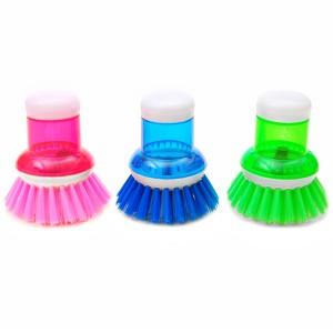 Alat sikat panci cuci piring inovatif + dispenser sabun cair - HKN012