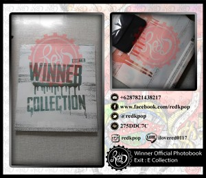 READY STOCK Winner Official Photobook Exit : E Welcoming Collection