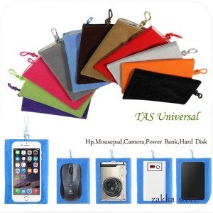 Tas Universa ( Hp| Power Bank | Camera | Mousepad  Hard Disk )
