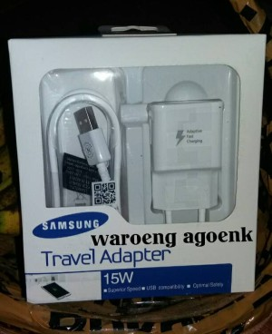 Charger Samsung Galaxy Note 4 100% Original, Adative Fast Charging