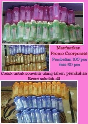 Botol Minum Tulipware (650ml)