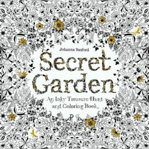 SECRET GARDEN COLORING BOOK FOR ADULTS VERSI BEGINNER BUKU MEWARNAI