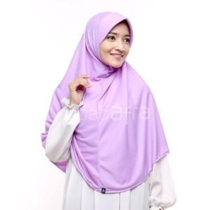 Jual jilbab afra bergo kaos ukuran XL - Agen Jilbab Afra