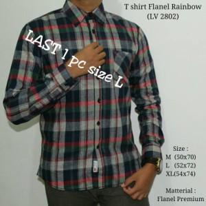 harga kemeja flanel pria lelaki cowok murah LEVIS merah & navy Tokopedia.com