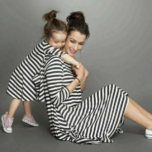 harga Couple Dress Salur Mom Kid Couple Ibu dan Anak Baju Keluarga Tokopedia.com