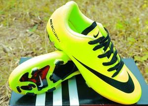 Sepatu Bola/Sepatu Olahraga Nike Mercurial Vapor IX Hijau KW Super