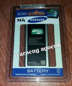 Baterai Samsung Galaxy Note 4 N9100, N910C (Original Sein 100%)