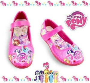 sepatu anak perempuan / flat shoes anak / sepatu karakter little pony