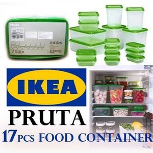 IKEA Pruta / Fruta Food Container 1 Set Isi 17 Pcs Grosir Murah