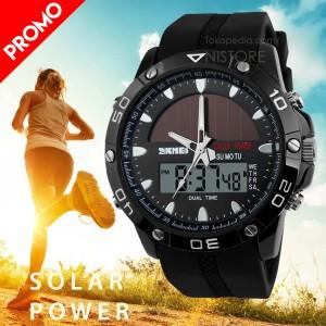 harga Jam Tangan ORIGINAL SKMEI Solar Power Sport LED Watch Tokopedia.com