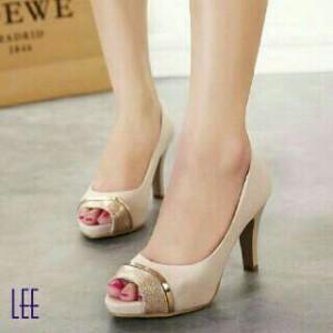 Sandal high heels pantopel   sepatu sendal cewek