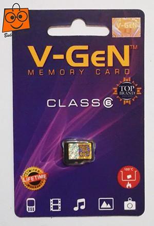 Kartu Memori MicroSD V-GEN 4 GB ORIGINAL