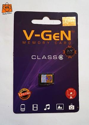 Kartu Memori MicroSD V-GEN 8 GB ORIGINAL