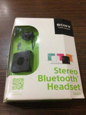 0d2ad0c1f14 Original Stereo Bluetooth Headset SONY SBH20 || SBH 20 # Black harga ...