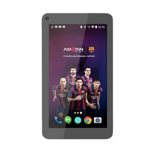 Advan Vandroid Barca T2G Tablet WiFi - 4GB - Black