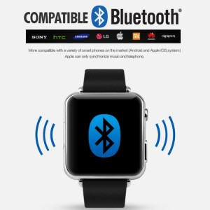 SKMEI Smart LED Bluetooth Smartwatch for iOS and Android/ Jam tgn Pria