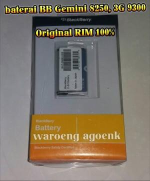 Baterai Blackberry CS2 C-S2 Gemini 8250, 3G 9300 (Original RIM 100%)