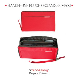 DOMPET HPO MAXI D renbellony : Handphone Pouch Organizer Maxi