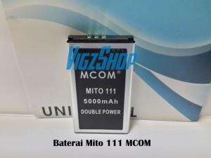 Baterai Battery Mito 111 5000mAh MCOM Double Power