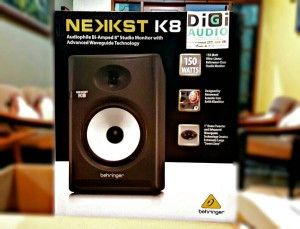 Behringer NEKKST K8 Bi-Amped 8 inch Speaker Studio Monitor