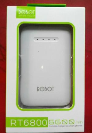 Power Bank ROBOT VIVAN (RT6800) 6600 Mah