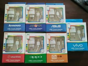 Charger Branded Asus, Oppo, Xiaomi, Vivo, Lenovo, Smartfren, Advan