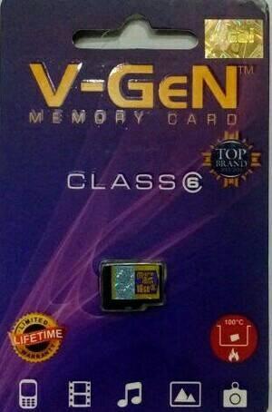 Micro sd V-GeN 16gb class6