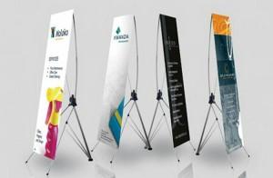 harga X Banner / Y Banner / free design + rangka Tokopedia.com