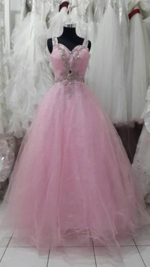 ballgown pink