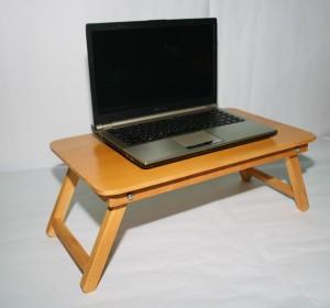 harga meja laptop untuk belajar dari kayu Tokopedia.com