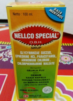 Jual Nelco Special 100 ML OBAT BATUK FLU SAKIT KEPALA