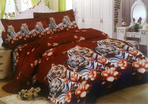 Bedcover Lady Rose Disperse 180 – White Tiger