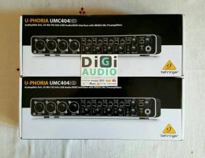 harga Soundcard Behringer UMC404HD ( UMC 404 HD )with MIDAS Preamp Tokopedia.com