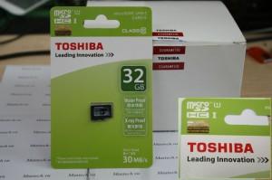 Toshiba C10 Micro SD 32GB